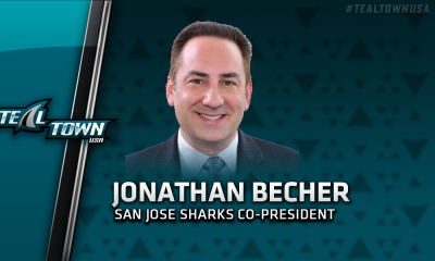 San Jose Sharks co-president Jonathan Becher
