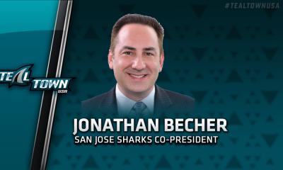 San Jose Sharks co-president Jonathan Becher