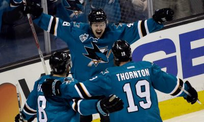 Tomas Hertl, Joe Thornton