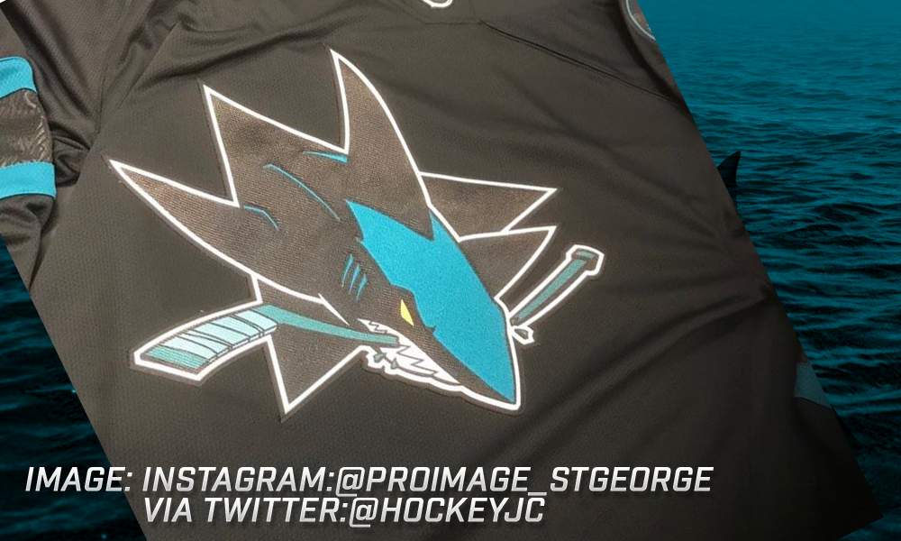 BREAKING  Sharks Third Jersey Leaks Online - Teal Town USA ba5078e7c