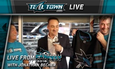 Teal Town Live at Sharks Fan Fest w/ Sharks Co-President Jonathan Becher
