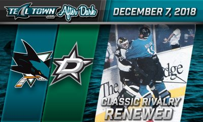 San Jose Sharks vs Dallas Stars 11-7-2018