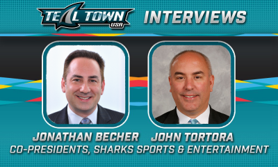 Jonathan Becher and John Tortora Interview - San Jose Sharks