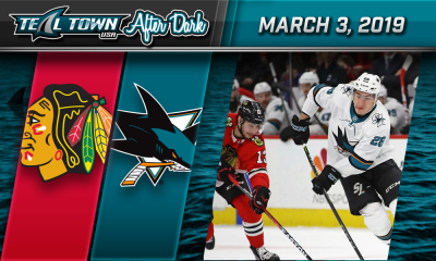 San Jose Sharks vs Chicago Blackhawks podcast