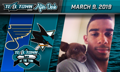 Sharks vs Blues - TealTownUSA Day