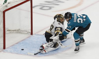 Vegas Golden Knights versus San Jose Sharks