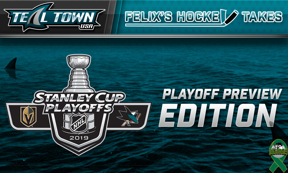 Felix's Hockey Takes: Playoff Preview Edition - Teal Town USA