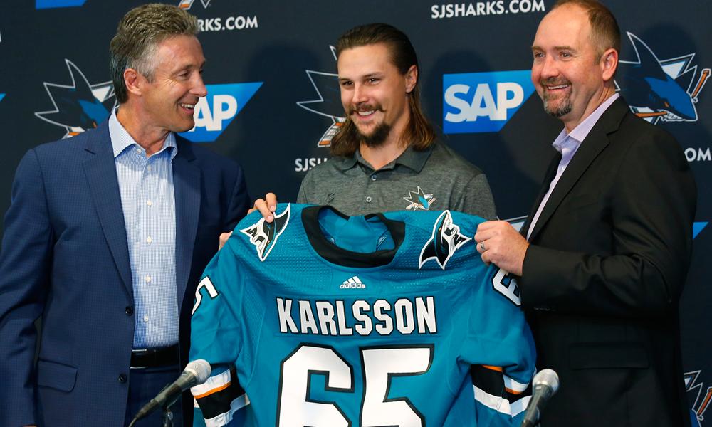 Sharks Re-Sign Erik Karlsson
