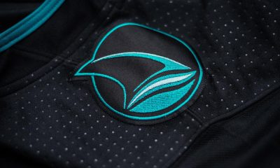 Sharks jersey shoulder patch