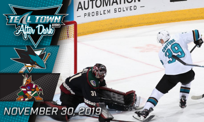 San Jose Sharks @ Arizona Coyotes 11-30-2019