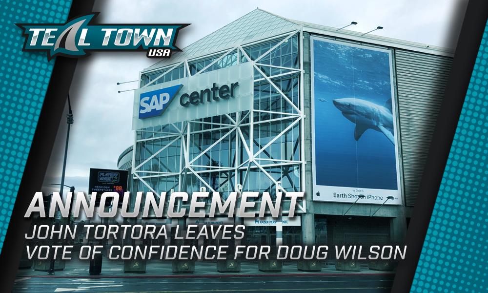 San Jose Sharks announcement