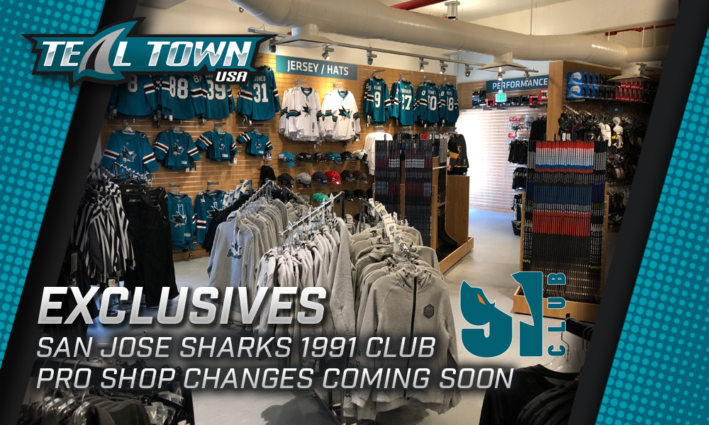 San Jose Sharks 91 Club Pro Shop