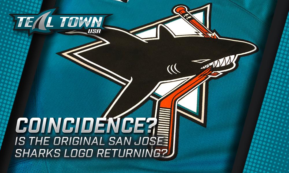 Original San Jose Sharks logo
