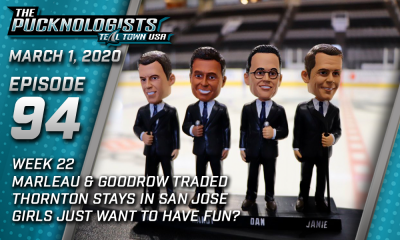 The Pucknologists 94 - San Jose Sharks podcast
