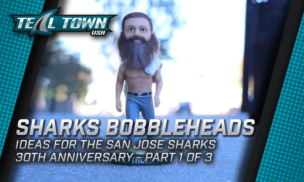 San Jose Sharks Bobblehead Ideas 1 of 3