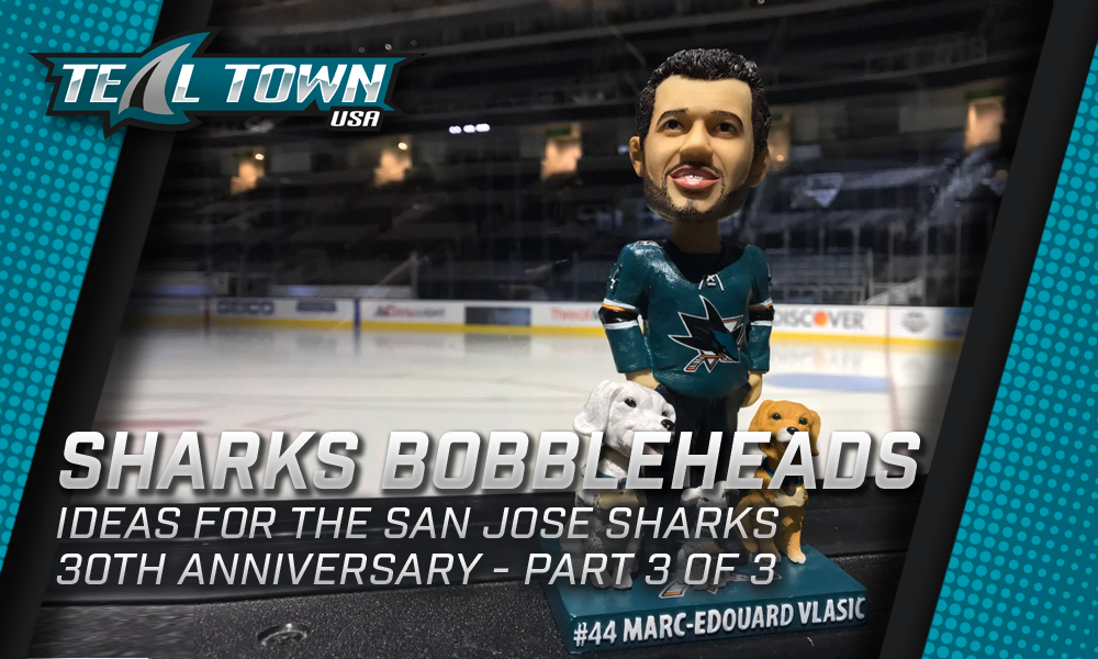 San Jose Sharks Bobblehead Ideas 3 of 3