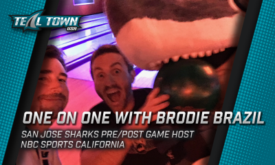 One on One with Brodie Brazil - San Jose Sharks