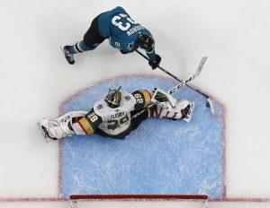 San Jose Sharks bobblehead - Barclay Goodrow - Game 7