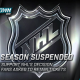 NHL SUSPENDS SEASON
