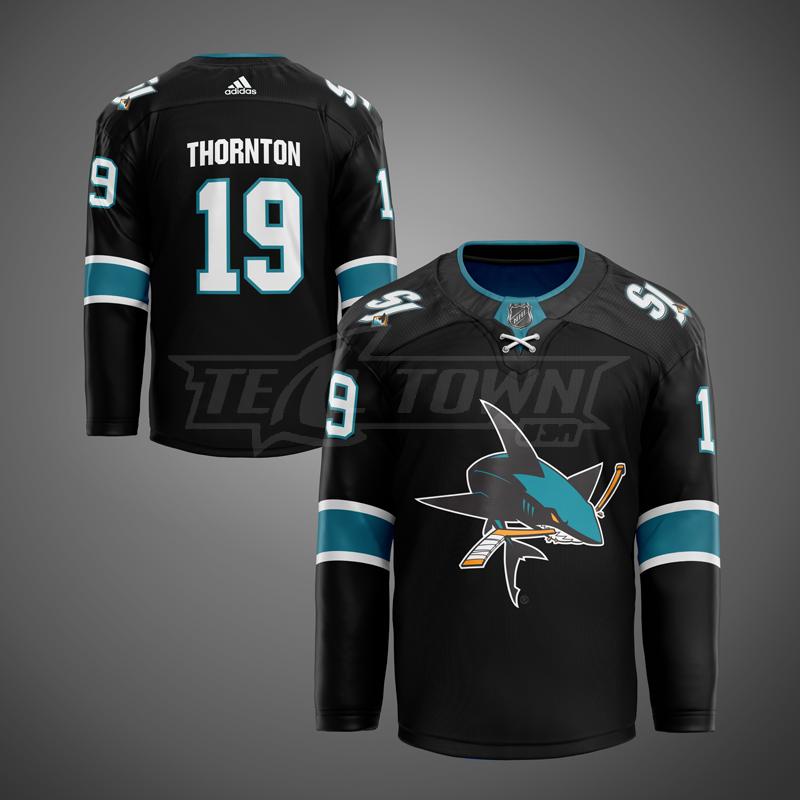 San Jose Sharks alternate jersey - 3rd generation