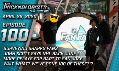 The Pucknologists 100 - San Jose Sharks podcast