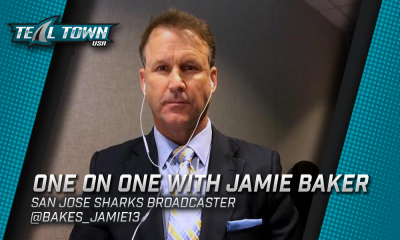One on One with Jamie Baker - San Jose Sharks - TealTownUSA podcast