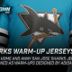 San Jose Sharks warm-up jerseys