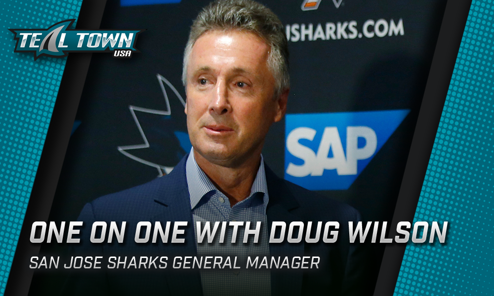 Teal Town USA interview with San Jose Sharks GM, Doug Wilson