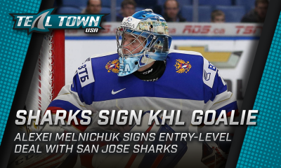 San Jose Sharks sign KHL goalie Alexei Melnichuk