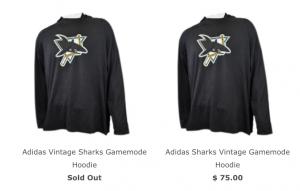 Sharks hoodies