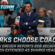 San Jose Sharks coach Bob Boughner