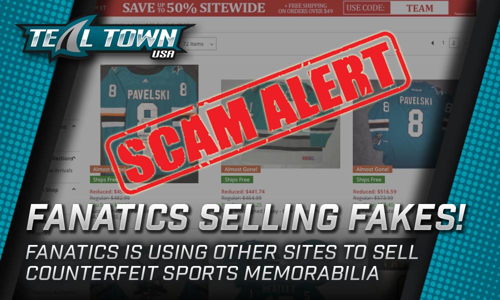 Fanatics Scam