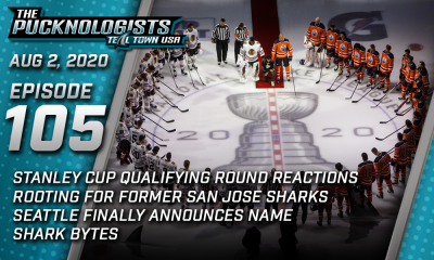 The Pucknologists 105 - A San Jose Sharks broadcast