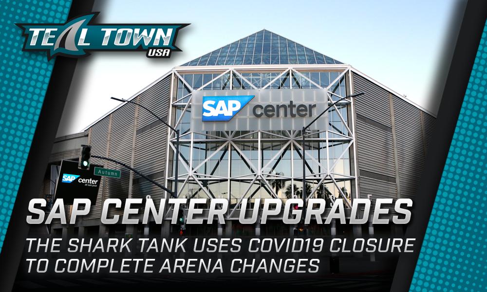 SAP Center Upgraded