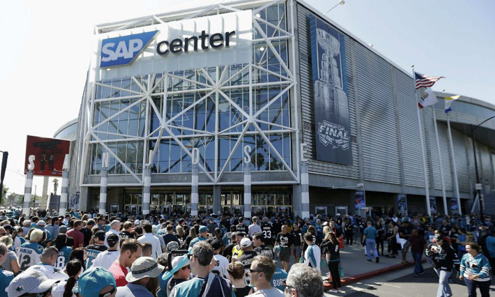 SAP Center, San Jose, California